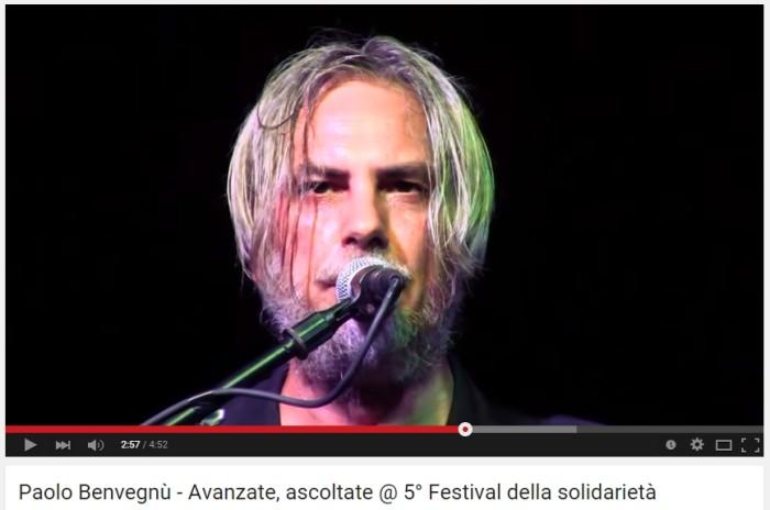 Paolo Benvegnù - Avanzate, ascoltate